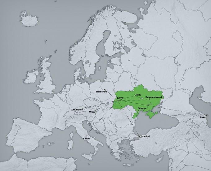 Anreise Ukraine Flugverbindungen Lwiw