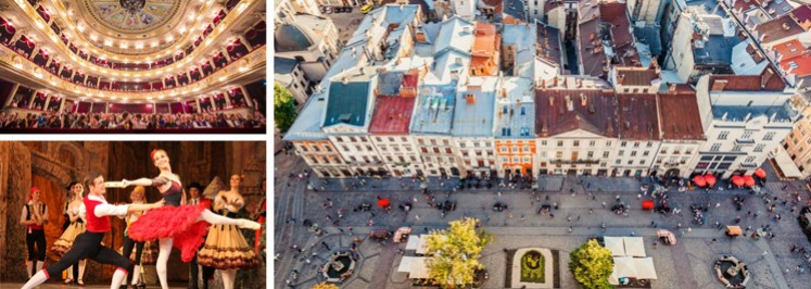 LEMBERG/LVIV - DAS JUVEL GALIZIENS<br /> Geheimtipp! Städtereise 2020