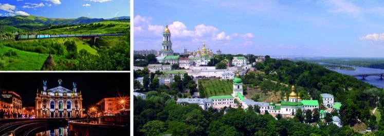 GROSSE UKRAINE-RUNDREISE