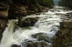 Fluss Pruth in Jaremtsche